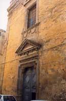 Chiesa di S.Maria degli Angeli (o del Purgatorio) in via L.Sturzo CALTAGIRONE Giambattista Scivolett