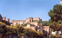 Panorama da Viale regina Elena CALTAGIRONE Giambattista Scivoletto