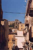 Panoramica con torre di san Gregorio CALTAGIRONE Giambattista Scivoletto