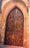 portale in bronzo della chiesa di San Pietro (di G.Angelico) CALTAGIRONE Giambattista Scivoletto