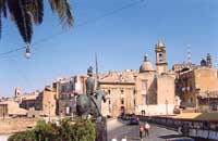 Panoramica dal piazzale S.Francesco all'Immacolata  - Caltagirone (4708 clic)