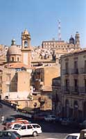 Panoramica dal piazzale S.Francesco all'Immacolata  - Caltagirone (2726 clic)
