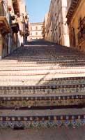 La scalinata S.Maria del Monte  - Caltagirone (3491 clic)