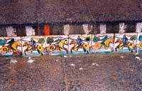 disegni in ceramica della scala di Santa Maria del Monte di A.Ragona  - Caltagirone (6627 clic)