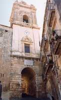 campanile della basilica minore di san giacomo  - Caltagirone (3131 clic)