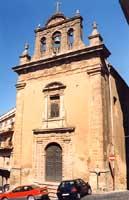 Chiesa di S.Agata, un tempo riuniva la confraternite dei ceramisti CALTAGIRONE Giambattista Scivolet