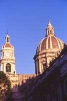 Campanile e Cupola del Duomo di Sant'Agata  - Catania (3958 clic)