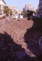 Resti dell'Anfiteatro Romano in Piazza Stesicoro  - Catania (2356 clic)