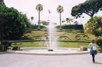 Villa Bellini - La fontana dei Cigni  - Catania (3721 clic)