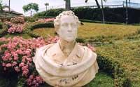 Villa Bellini - busto di Vincenzo Bellini  - Catania (9072 clic)