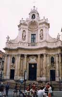 La Basilica Collegiata in Via Etnea (EX Chiesa di Santa Maria dell'Elemosina)  - Catania (3131 clic)