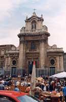 Chiesa della Madonna del Carmine in Piazza Carlo Alberto  - Catania (4200 clic)