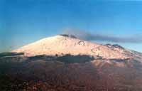 Etna (foto scattata dall'aereo)  - Etna (9040 clic)