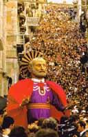 Pasqua a Caltagirone - San Pietro - a giunta  - Caltagirone (15371 clic)