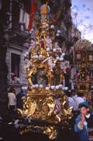 Festa di Sant'Agata - candelora  - Catania (13307 clic)