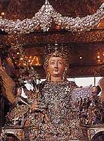Festa di Sant'Agata a Catania - Busto reliquario di Sant'Agata  - Catania (16749 clic)