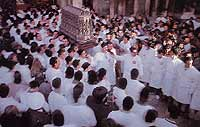 Festa di Sant'Agata a Catania - (Lo scrigno contenente le relique)  - Catania (6499 clic)