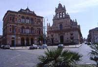 Duomo e Municipio  - Grammichele (3209 clic)
