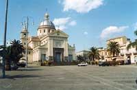 chiesa di san leonardo patrono del paese - festa in suo onore il 6 novembre  - Mascali (7533 clic)