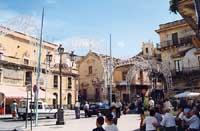 Piazza Vittorio Emanuele  - Militello in val di catania (10182 clic)