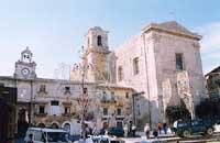 Chiesa del collegio in piazza Buglio  - Mineo (7417 clic)