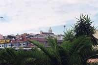 Panorama (foto molto brutta, lo so. Ho solo questa ... mandatemene delle altre!)  - Misterbianco (5868 clic)