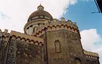 Particolare del retro della Chiesa di San Nicola   - Randazzo (2570 clic)
