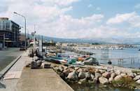 porto e lungomare Pantano  - Riposto (6999 clic)