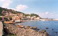 panorama del paese visto dal mulino  - Santa maria la scala (3973 clic)