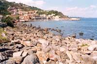 panorama del paese visto dal mulino  - Santa maria la scala (7383 clic)
