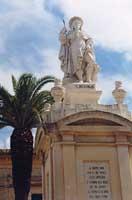 Statua di San Rocco  - Scordia (5202 clic)