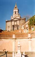 facciata chiesa madre S. Nicola  - Trecastagni (6126 clic)