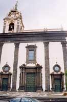 facciata chiesa madre ss. maria dell'Idria  - Viagrande (5097 clic)