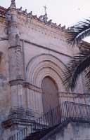 Chiesa Madre San Gregorio Magno entrata in stile gotico-catalano  - Vizzini (5458 clic)