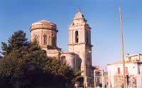Il 'Campanone' della Chiesa S. Giovanni Battista visto dal Largo Cappuccini.  - Vizzini (3267 clic)