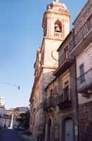 Salita S. Gregorio Magno - Campanile della Basilica di S. Vito  - Vizzini (5606 clic)