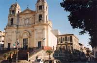 Chiesa Madre e Via Roma  - Zafferana etnea (7165 clic)