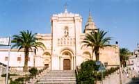Vista frontale dell'Abbazia di San Filippo d'Agira  - Agira (8237 clic)