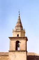campanile dell' abbazia di San Filippo d'Agira  - Agira (3601 clic)