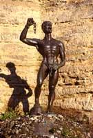 Euno (schiavo liberato) - Castello Lombardia   - Enna (4769 clic)