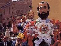 Pasqua a Barrafranca - gli apostoli -  A Giunta  in occasione dei festeggiamenti del giorno di Pasqua  - Barrafranca (18298 clic)