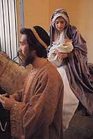 La Fuga in Egitto: è una rappresentazione sacra che si trasmette da tempo immemorabile ogni sette anni in Assoro  - Assoro (10066 clic)