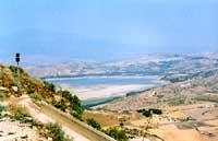 Lago di Pozzillo - campo di regate di canottaggio che sorge a pochi km dall'etna  - Regalbuto (5552 clic)