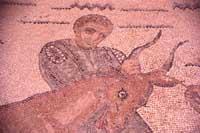 Mosaici - Ambulacro della caccia (particolare)  - Villa romana del casale (4856 clic)