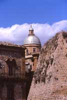 il duomo dal castello Aragonese  - Piazza armerina (4104 clic)