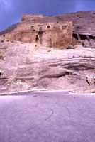 Castello medievale. costruito da Eusso Rubeo verso l'anno 1132  - Sperlinga (8175 clic)