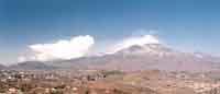 Vista dell'Etna da Trecastagni  - Trecastagni (2624 clic)