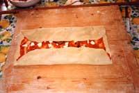 Scacce pomodoro e melanzane - preparazione  - Modica (7191 clic)