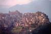 Calascibetta - Parte alta del paese, Chiesa Madre in alto a sinistra  - Calascibetta (8929 clic)