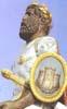 Messina, Processione della Vara e cavalcata dei Giganti - il Mitico GRIFONE che assieme alla sua Compagna MATA vengono portati in giro per alcune vie della Città di Messina dal 13 al 14 agosto di ogni anno  - Messina (7967 clic)